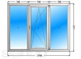 Тип окна - 2 - Одесса